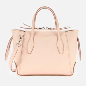 Tod's Women's Mini Zip Tote Bag - Rosa Kiss