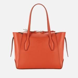 Tod's Women's Medium Zip Tote Bag - Teracotta