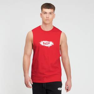 MP Men's Chalk Graphic Tank Top - Danger