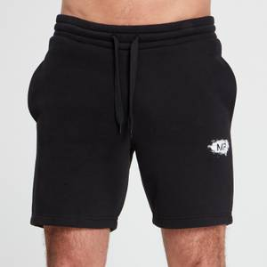 MP Men's Chalk Graphic Shorts - Black