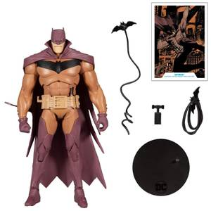 "McFarlane DC Multiverse 7"" - White Knight - Batman (Red Variant) Action Figure"