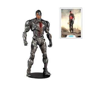"McFarlane Toys DC Justice League Movie 7"" Figures - Cyborg Action Figure"