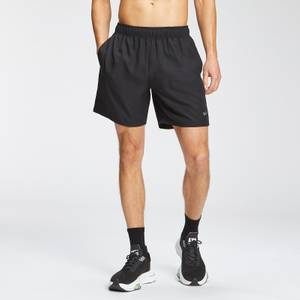MP Men's Repeat Graphic Training Shorts - Black