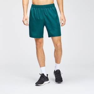 MP Men's Repeat Graphic Training Shorts - Deep Teal