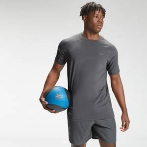 MP Men's Repeat Mark Graphic Training Short Sleeve T-Shirt | Carbon | MP