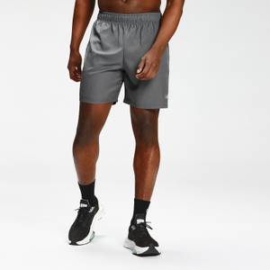 MP Men's Repeat Mark Graphic Training Shorts | Carbon | MP