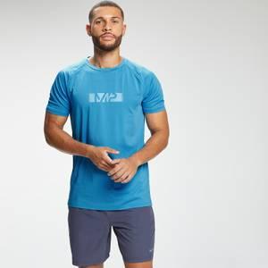MP Men's Graffiti Graphic Training Short Sleeve T-Shirt - Bright Blue