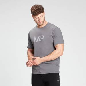 MP Men's Gradient Line Graphic Short Sleeve T-Shirt - Carbon