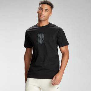 MP Men's Repeat MP Graphic Short Sleeve T-Shirt - Black