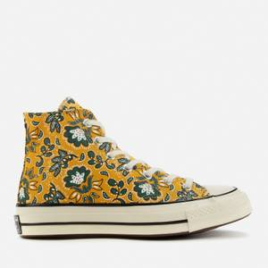 Converse Women's Chuck 70 Culture Prints Hi-Top Trainers - Gold Dart/Egret/Fire