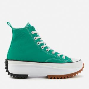 Converse Women's Run Star Hike Trainers - Court Green/White/Gum