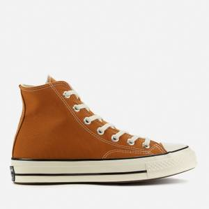 Converse Chuck 70 Recycled Canvas Hi-Top Trainers - Dark Soba/Egret/Black