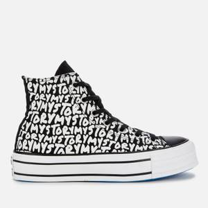 Converse Women's Chuck Taylor All Star My Story Platform Hi-Top Trainers - Black