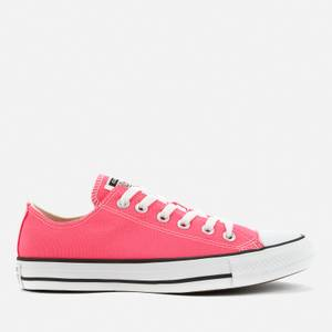 Converse Women's Chuck Taylor All Star Canvas Ox Trainers - Pink