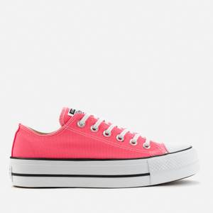 Converse Women's Chuck Taylor All Star Lift Ox Trainers - Hyper Pink