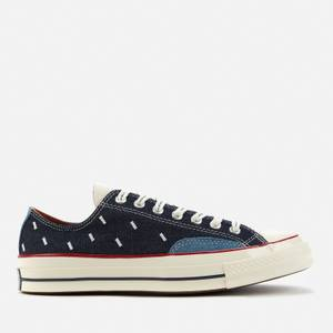 Converse Men's Chuck 70 Indigo Boro Ox Trainers - Midnight Navy