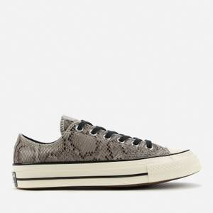 Converse Chuck 70 Archive Reptile Ox Trainers - Grey