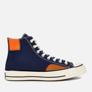 Converse Men's Chuck 70 Alt Exploration Ripstop Hi-Top Trainers - Midnight Navy/Dark Soba
