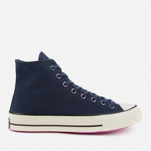 Converse Men's Chuck 70 Heart Of The City Hi-Top Trainers - Obsidian/Bold Citron