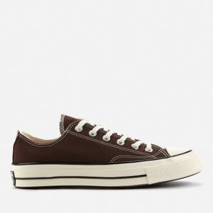 Converse Men's Chuck 70 Canvas Ox Trainers - Dark Root