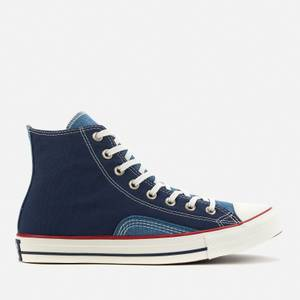 Converse Men's Chuck Taylor All Star Indigo Boro Hi-Top Trainers - Midnight Navy