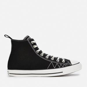 Converse Men's Chuck Taylor All Star Basket Utility Hi-Top Trainers - Black/Vintage White