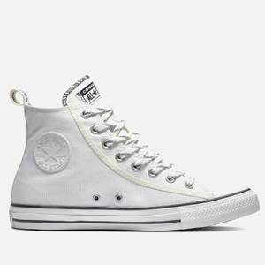 Converse Men's Chuck Taylor All Star Basket Utility Hi-Top Trainers - Vintage White