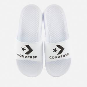 Converse All Star Slide Sandals - White/Black
