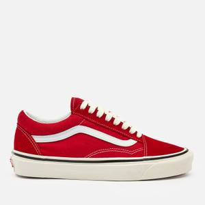 Vans Anaheim Old Skool 36 Dx Trainers - Red/Og White