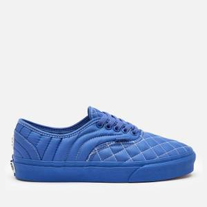 Vans X Opening Ceremony Authentic Quilted Trainers - Baja Blue