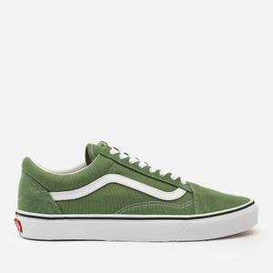 Vans Men's Old Skool Trainers - Shale Green/True White
