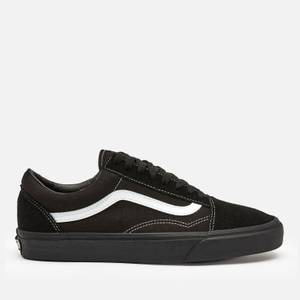 Vans Men's Suede/Canvas Old Skool Trainers - Black/True White