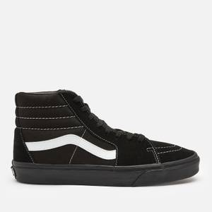 Vans Men's Suede/Canvas Sk8 Hi-Top Trainers - Black/True White