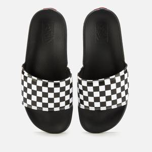 Vans La Costa Slide Sandals - True White/Black