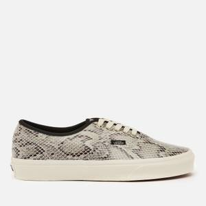 Vans Women's Snake Print Authentic Trainers - Grey