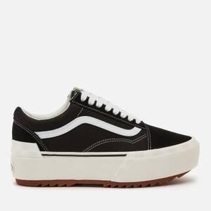 Vans Women's Old Skool Stacked Trainers - Black
