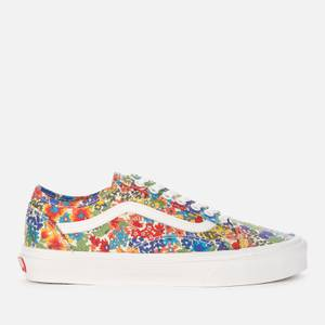 Vans X Liberty London Women's Old Skool Tapered Trainers - Multi/Yellow Floral