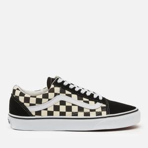 Vans Old Skool Trainers - Black/Swhite Checkerboard