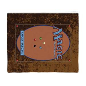 Magic: the Gathering Deck Master Fleece Blanket