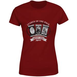 Magic: the Gathering Leader Of The Pack Women's T-Shirt - Burgundy