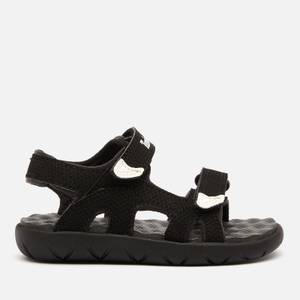 Timberland Toddlers' Perkins Row 2-Strap Sandals - Black