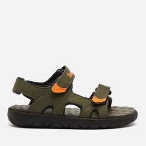Timberland Toddlers' Perkins Row 2-Strap Sandals - Dark Green