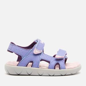 Timberland Toddlers' Perkins Row 2-Strap Sandals - Light Purple