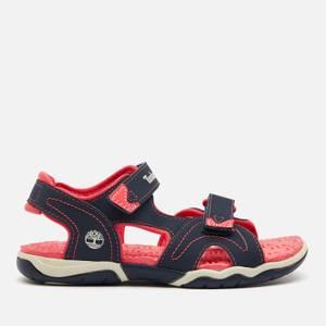 Timberland Kids' Adventure Seeker 2 Strap Sandals - Navy/Pink