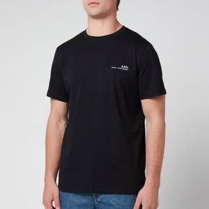 A.P.C. Men's Item T-Shirt - Black