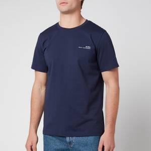 A.P.C. Men's Item T-Shirt - Dark Navy