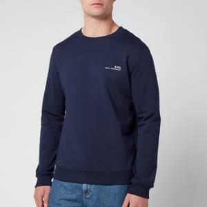 A.P.C. Men's Item Sweatshirt - Dark Navy