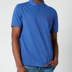 Barbour Beacon Men's Polo Shirt - Atlantic Blue