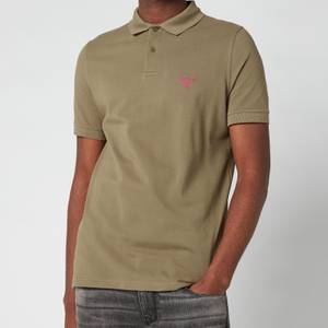 Barbour Beacon Men's Polo Shirt - Light Moss