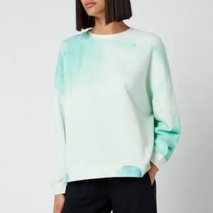 Whistles Women's Tie Dye Sweatshirt - Green/Multi